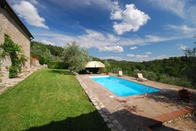 Location maisons gaiole in chianti poggione en toscane for Acheter une maison en toscane