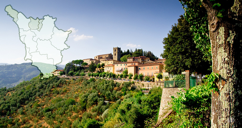 Provinces de Massa e Carrare, de Pistoia et de Prato
